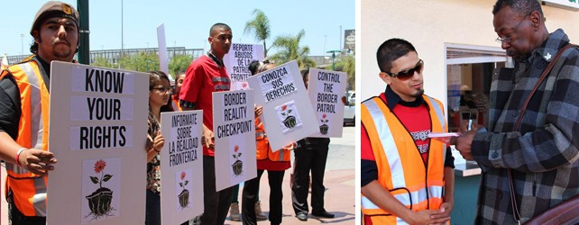 TODAY: Border Reality Checkpoint Actions from CA to TX Demand Reforms of CBP