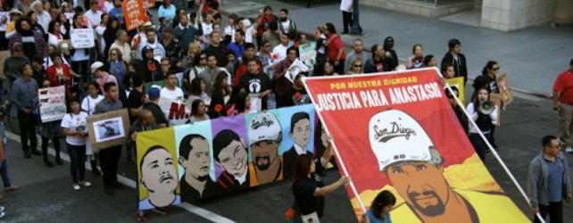 Organizing for border justice and against the militarization of US-Mexico border communities